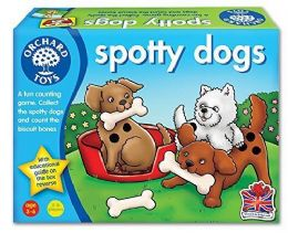 *Brand New* Orchard Toys Spotty Dogs Educational Kids Role Play Board Game Toy